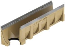 ACO V150S 1000 mm rende 0.0.2 med galv. karmed udløb, uden r