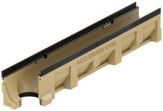 ACO V100G 1000 mm rende 10.0.2 m/støbejernskarm/udløb, uden
