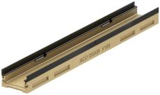 ACO V100G 1000 x 80 mm rende med støbejernskarm, uden udløb/