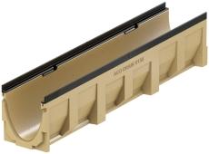 ACO V150G 1000 mm rende 0.0 med støbejernskarm, uden udløb/r