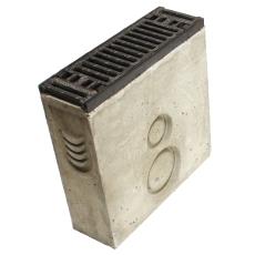 Duco Maxi 500 mm sandfang med støbejernsrist, 25 t