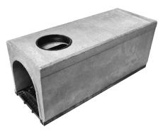 Duco Maxi 300 1000 mm rende med støbejernsrist/udløb, 60 t