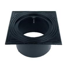 Duco 315 mm rørbrøndkarm uden rist/dæksel, firkantet, lang,
