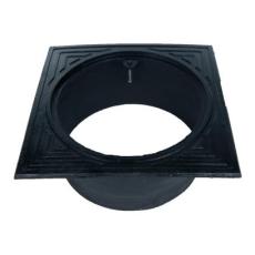 Duco 425 mm rørbrøndkarm uden rist/dæksel, firkantet, lang,