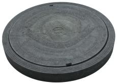 Duco 800 mm karm/dæksel, PVC-genbrugsplast, 0,2 t