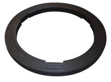 Duco 370 x 27 mm forhøjelsesring i genbrugsplast til 2220333