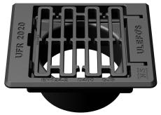 Ulefos 300 x 180 mm rendestensrist, flydende, 40 t, SG UFR20