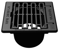 Ulefos 315 x 320 mm rendestensrist, flyd., 40 t, SG UFR2000