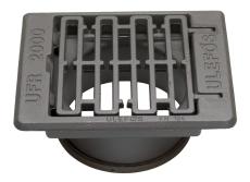 Ulefos 315 x 180 mm rendestensrist, flydende, 40 t, SG UFR20
