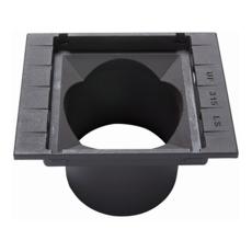 Ulefos 315 x 334 mm rendestenskarm uden rist, 2-flanget, SG