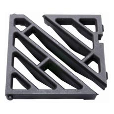 Ulefos løs motorvejsrist med diagonale lameller, 40 t, SG