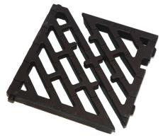 Ulefos løs rendestensrist med diagonale lameller, 40 t, SG