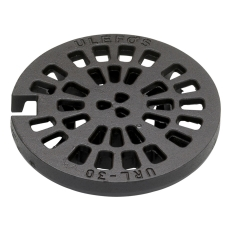 Ulefos 300 mm rist med pakning og lås, 40 t, SG URL 30
