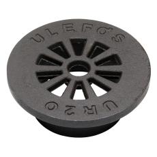Ulefos 200 mm rist uden pakning, 40 t, SG UR 20