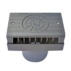 Ulefos 300 mm karm/dæksel med sideindløb UFK/300