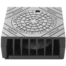 Ulefos 400 mm karm med sideindløb UFKL/400