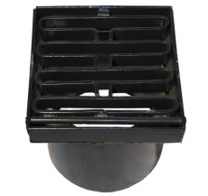 Duco 280 x 350 mm karm/rist, fast, 25 t, sort smedejern