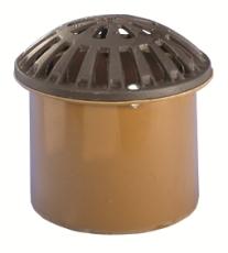 Wavin 425 mm kuppelrist med PVC-skørt, GG