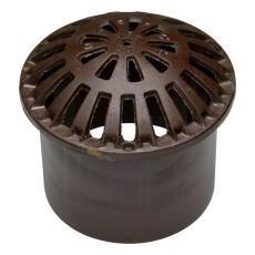 Ulefos 315 mm kuppelrist med støbejernsskørt, GG
