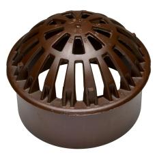 Ulefos 425 mm kuppelrist med støbejernsskørt, GG
