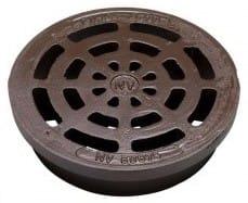 NV 425 mm rist uden pakning og lås, 1,5 t, GG