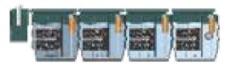 Uponor Wehomini 4460 x 850 x 1200 mm minirenseanlæg, 15PE, S