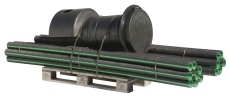 Uponor 110 mm sivestrengssæt 2 x 15 m m/brønd/geotekstil, kp
