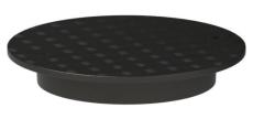 Uponor 600 mm dæksel med gummiring til Uponor 3-kammertanke