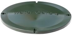 Watercare 500 mm dæksel med gummiring til tanke/udskillere