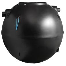 Wavin 4 l/s fedtudskiller m/alarm, 110 mm til-/afgang, i jor