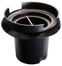 Ulefos 425 mm brønd-kulfilter til håndtering af lugtgener