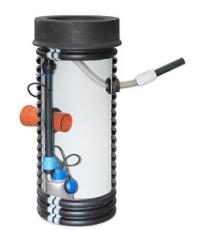 Uponor 450 x 2000 mm PP-pumpebrønd med Flygt SXM3 pumpe