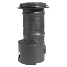 Uponor 400 x 1100 mm PE-fordelerbrønd til gravitation med lå
