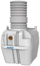 Watercare 3 l/s 1000 l olieudskiller m/flydelukke, 110 mm, k