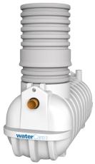 Watercare 3 l/s koalescensudskiller, 110 mm til-/afgang, kl.