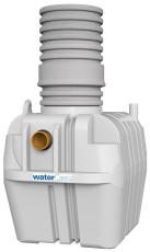 Watercare 6 l/s koalescensudskiller, 160 mm til-/afgang, kl.