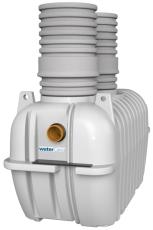 Watercare 10 l/s koalescensudskiller med alarm, 160 mm, kl.