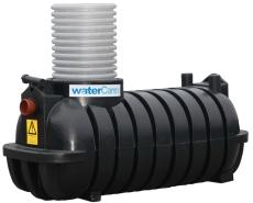 Watercare 2000 l sandfang m/569 mm opføring, 110 mm til-/afg