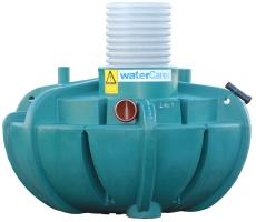 Watercare 2500 l sandfang m/569 mm opføring, 160 mm til-/afg