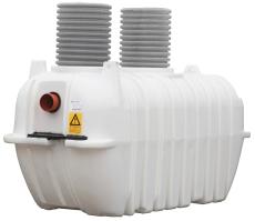 Watercare 4000 l sandfang m/569 mm opføring, 160 mm til-/afg