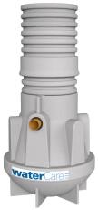 Watercare 2 l/s mini-fedtudskiller, 110 mm til-/afgang, i jo