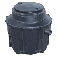 Kessel 1 l/s fedtudskiller, 110 mm til-/afgang, over jord