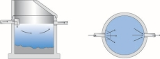 IBF Unisep 2000 l betonsandfang med kegle, 160 mm til-/afgan