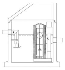 IBF Unisep 6 l/s koalescensudskiller, 160 mm til-/afgang, 1P