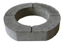 IBF 305 x 100 mm topring til vejbrønd, beton, afskåret