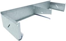 Flexi 300 x 175 x 1000 mm sokkelaffugter u/rist, S235JR/DIN1