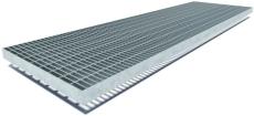 Flexi 300 x 25 x 1000 mm rist til sokkelaffugter, S235JR/DIN