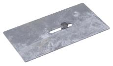 Flexi 100 x 175 mm endegavl til sokkelaffugter, S235JR/DIN14