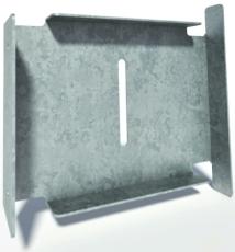 Flexi 200 x 175 mm tilpasning t/sokkelaffugter, S235JR/DIN14
