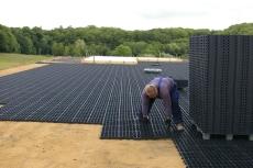 Byggros Ecoblock elastic E30, sort, 10 t, 12 stk. pr. 1,33 m